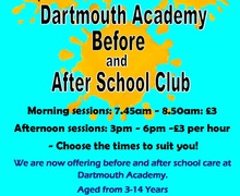 Before and after school club dartmouth 2018