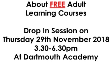Adult Learning Courses Drop in Session