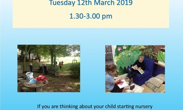 Nursery Open Afternoon