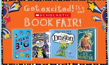Primary Scholastics Book Fair - from Wednesday 15th May to Monday 20th May