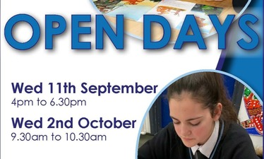 OPEN DAYS - September 2019