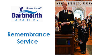 Remembrance Service - Monday 11th November