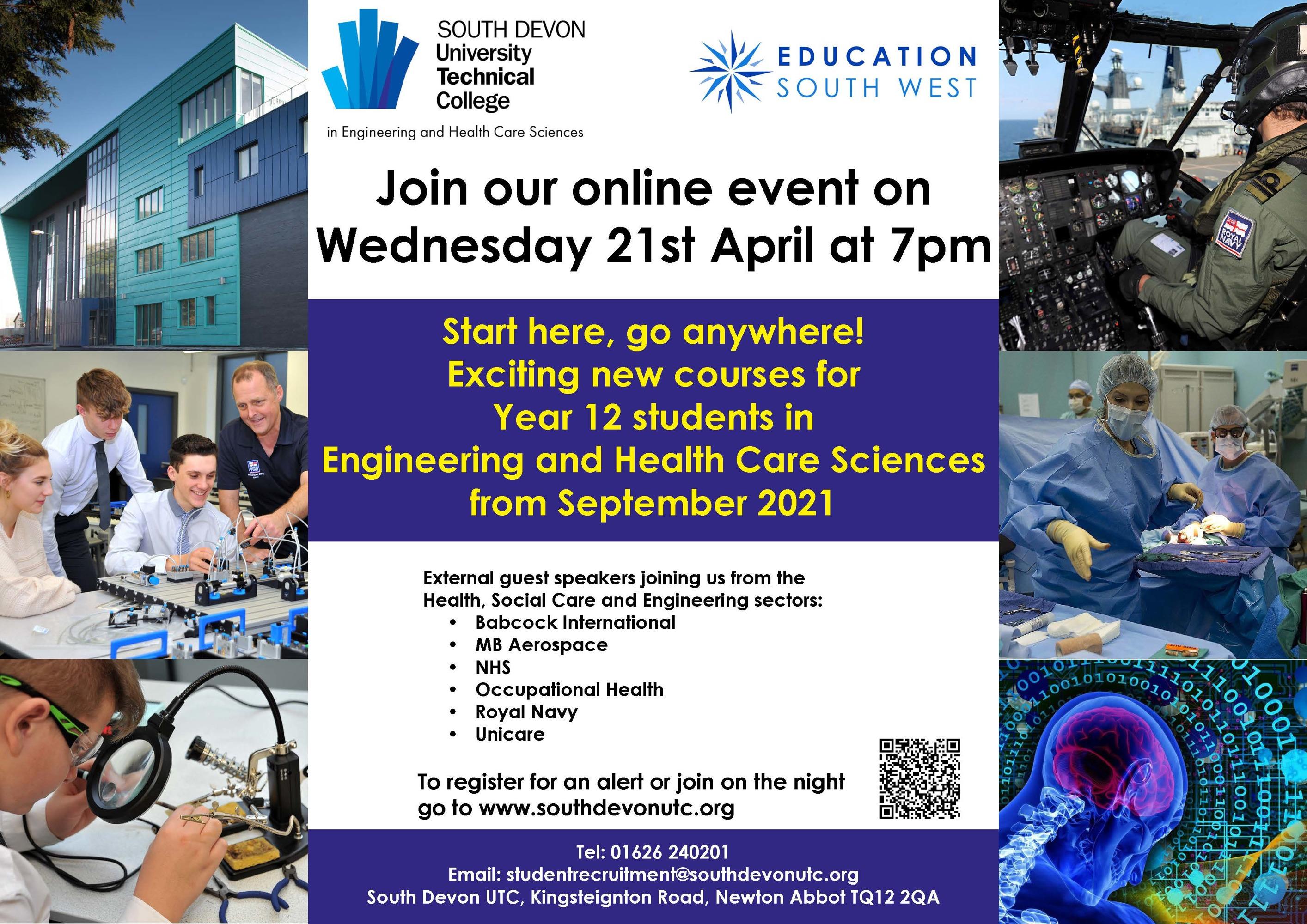 Utc new curriculum event a4 poster dar only april 2021