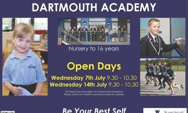 Dartmouth Academy Open Days